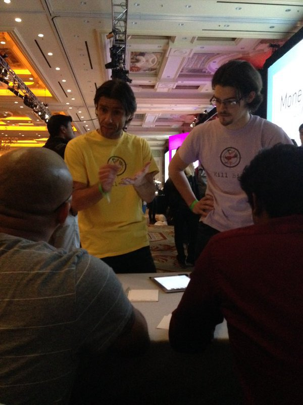 Money20/20 2015 hackathon pitch