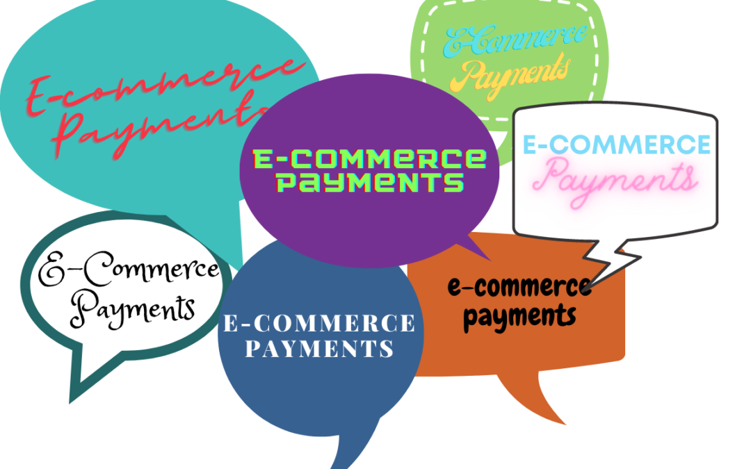 E-commerce payment in dialog blurbs